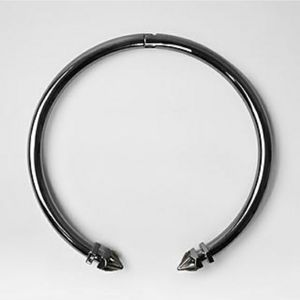 All Saints metal choker with crystals
